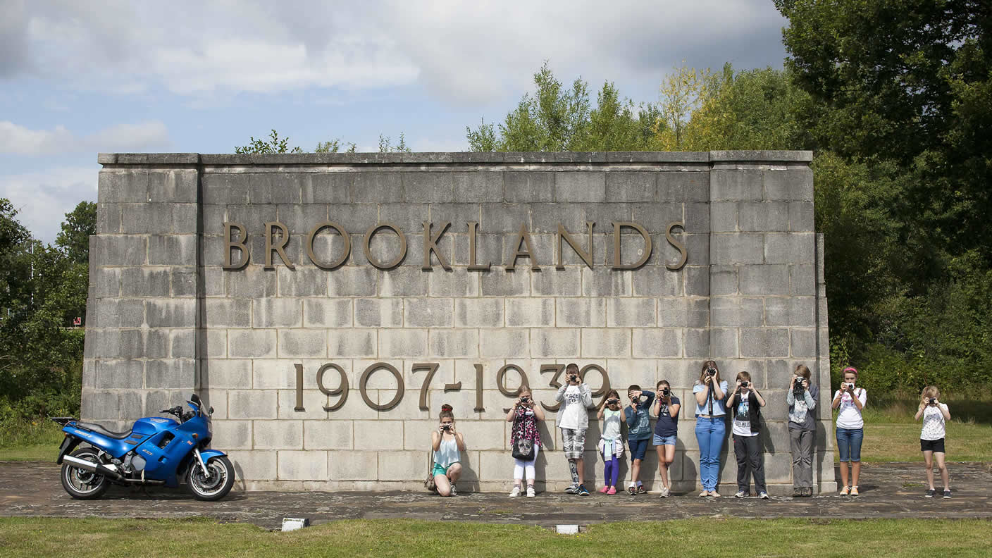 Brooklands wall photography course for teens