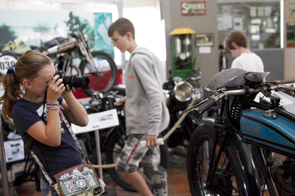 motorbikes photography workshops for teens