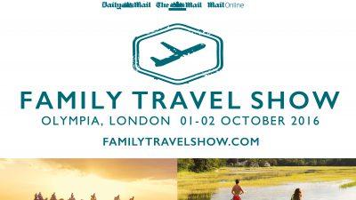 Family Travel Show, Olympia London, 1&2 October
