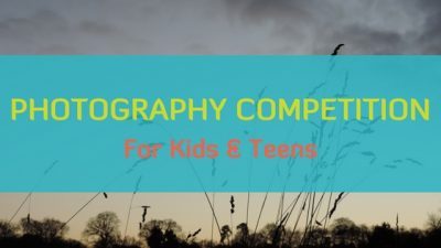 Winter Photography Competition for Kids & Teens