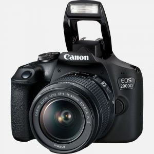 Best camera for teenager, Canon 2000D DSLR, sharp shots photo club