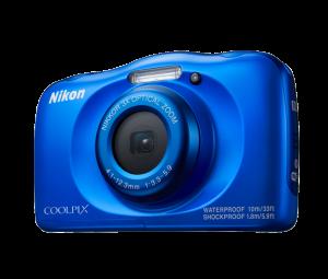 Nikon Coolpix W100 best camera for children, waterproof camera, best camera for children, sharp shots photo club