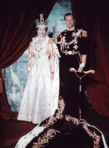 Elizabeth II and Prince Philip on Coronation Day by Cecil Beaton