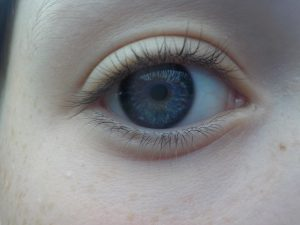 Close up photograph of an eye