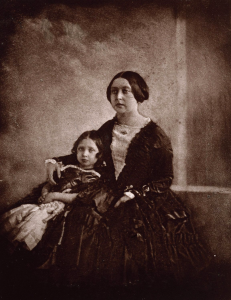 First photograph of Queen Victoria