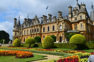 Waddesdon Manor in the sun