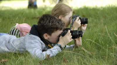 Summer holiday photography courses for kids