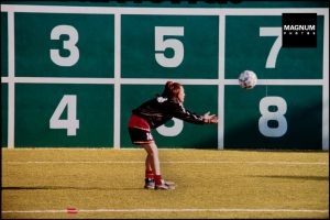 Chris Steele Perkins child throwing football