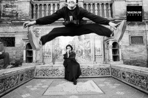 Ferdinando Scianna jumping photograph