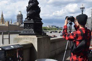 Teenager learning photography Duke of Edinburgh Skills in London