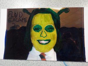 Funny kids collage surrey school