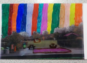 Colourful collage after school photography club surrey