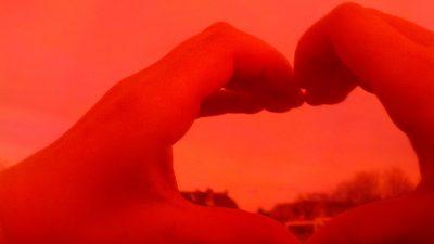 Valentine's day inspired photographs